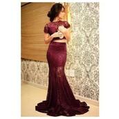 dress,croped,little black dress,burgundy,burgundy dress,crop tops,skirt,prom dress,lace dress,red dress,red,black dress,party dress,ball gown dress,two-piece,lace burgundy two piece  mermaid,prom,lace,prom gown,ruby red,two piece dress set,firebrick,evening dress,two piece dresses 2016,mermaid prom dress,sheer shirt,cheap dresses on sale,simple dress,modest dress,sexy dress,fashion dress,wine red,dope