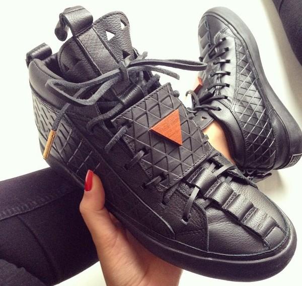 Patrick Mohr Men Sneakers - Black