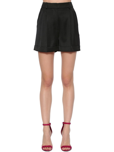 RACIL Cool Wool Shorts in black