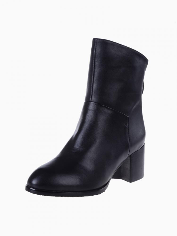 Heeled Zip Back Boots | Choies