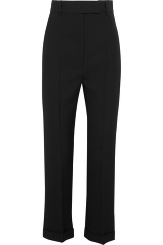 pants black wool