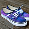 Galaxy vans shoes - custom hand painted galaxy on vans authentic - customizable