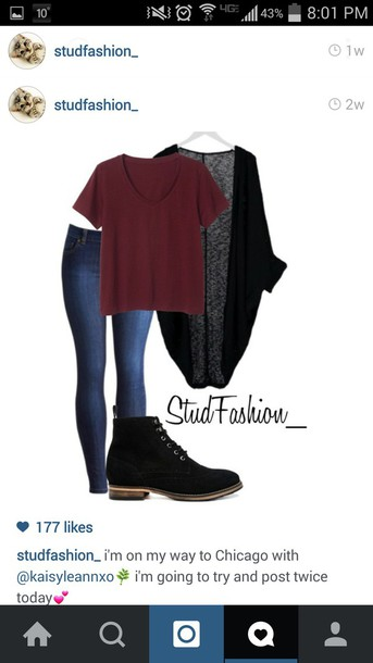 blouse maroon top shoes