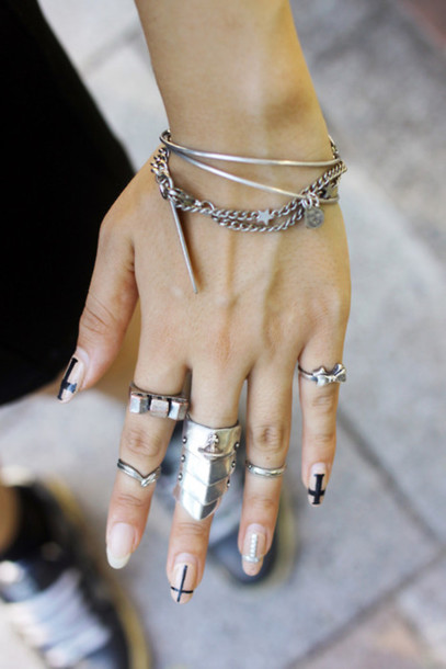 bracelets shield ring ring