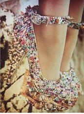shoes,heels high colours diamond rhinestone shoes