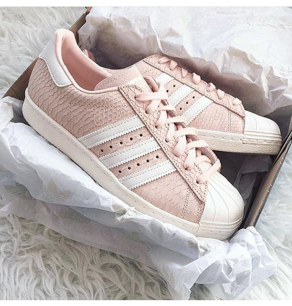 adidas rosa superstar