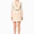Mini abito scollato con placca - Abiti su Digital Store ELISABETTA FRANCHI - la Boutique online ufficiale
