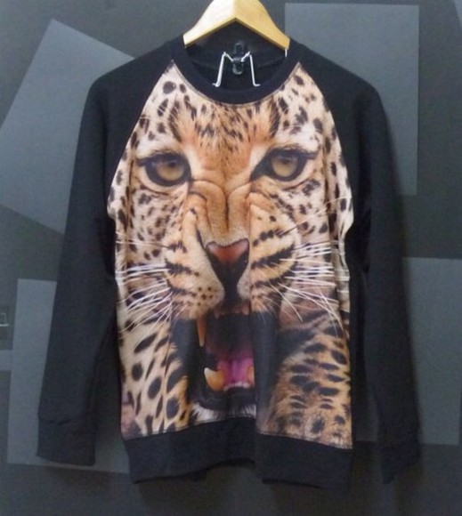 panther sweater lion