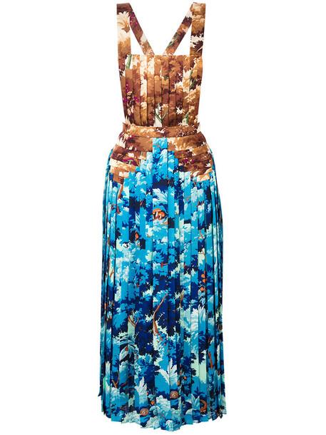 Marco De Vincenzo dress pleated dress pleated women