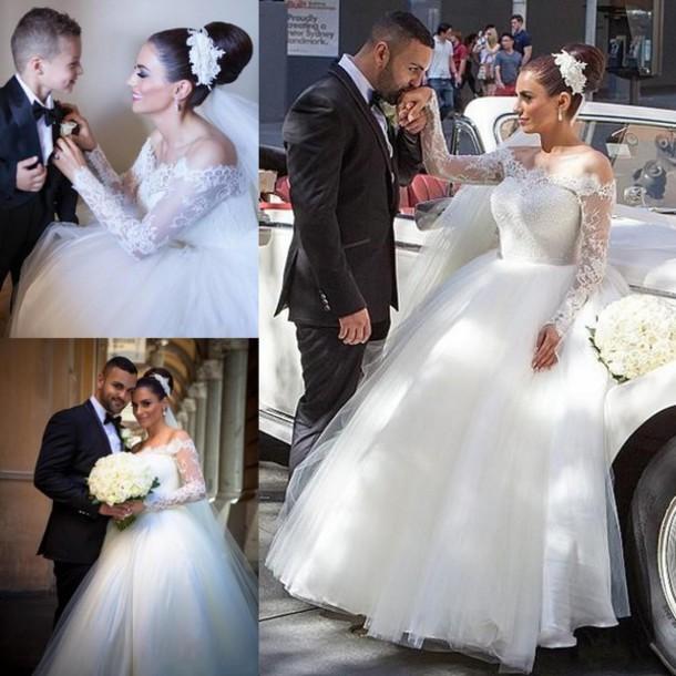 8dd8e67e90bf5 dress muslim arabic wedding dresses a line wedding dresses off shoulder wedding  dresses royal wedding dresses