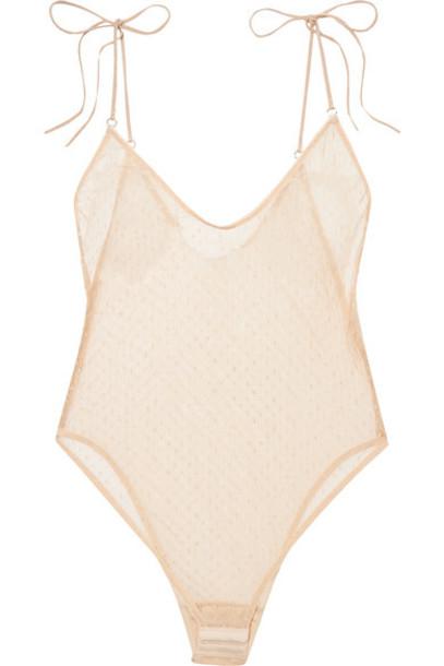 Le Petit Trou bodysuit beige underwear