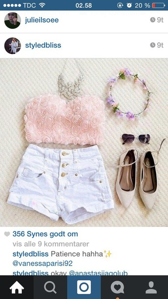 dress blouse crop tops shoes