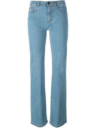 jeans women spandex leather cotton blue