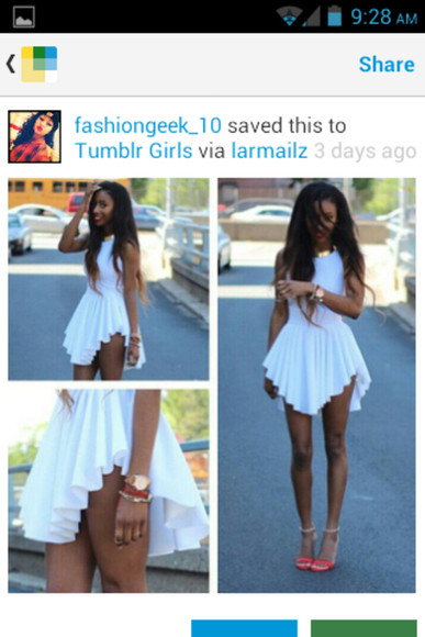 dress white dress high heels cute dress cute