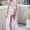 Peachy keen romper maxi – dream closet couture