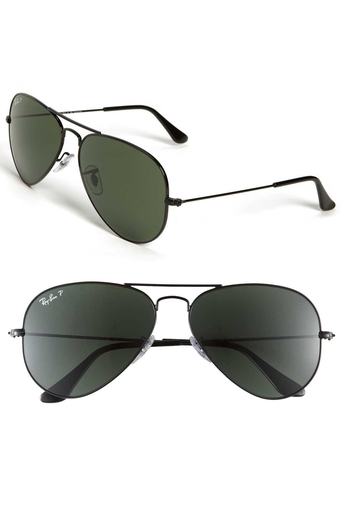 ray ban original aviator polarized sunglasses
