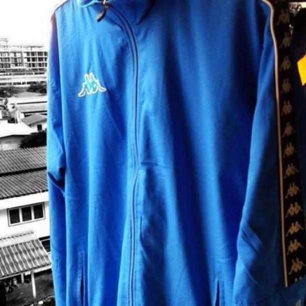 jacket kappa fila windbreaker sportswear vintage old school 90s style streetstyle streetwear street outfit outfit idea instagram unisex