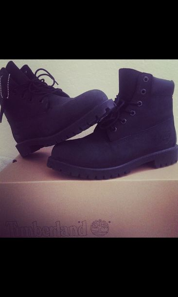 shoes black timberlands boots black boots beauty fashion shopping nice winter boots timberlands boots timberland swag boot black boots winter boots winter outfits timberlands black timberlands