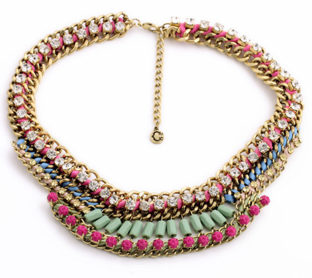 jewels statement necklace necklace fashion jewelry chunky necklace jewelry