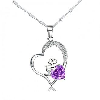 jewels heart jewelry gemstone love necklace