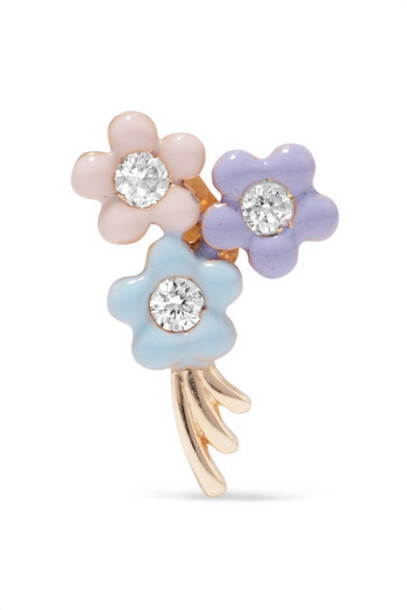 Alison Lou daisy gold jewels
