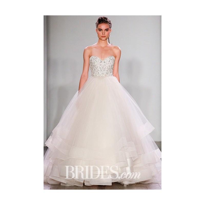 Lazaro - Fall 2017 - 3608 - Stunning Cheap Wedding Dresses|Prom Dresses On sale|Various Bridal Dresses