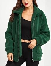 jacket,girly,girl,girly wishlist,green,oversized,teddy jacket,comfy,trendy