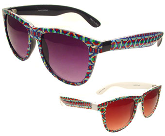 acb48f43f537 Aztec Print Sunglasses - Ragstock