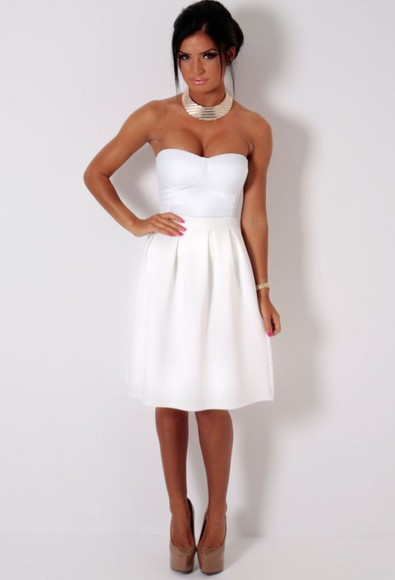 skirt white skirt summer outfits white tulip skirt summer skirt summer skirts classy night out outfit races dress