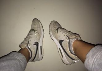 shoes air max nike white silver air max shiny