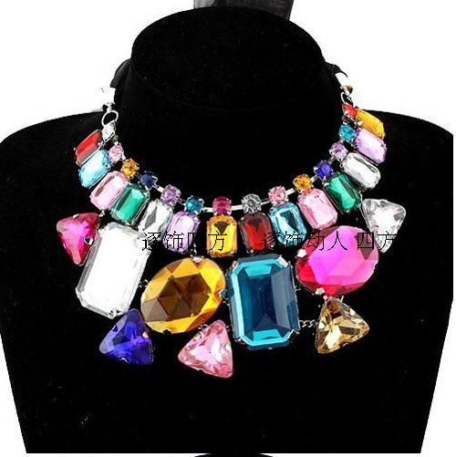 Big Chunky Necklaces Fashion Jewelry New Fashion necklace