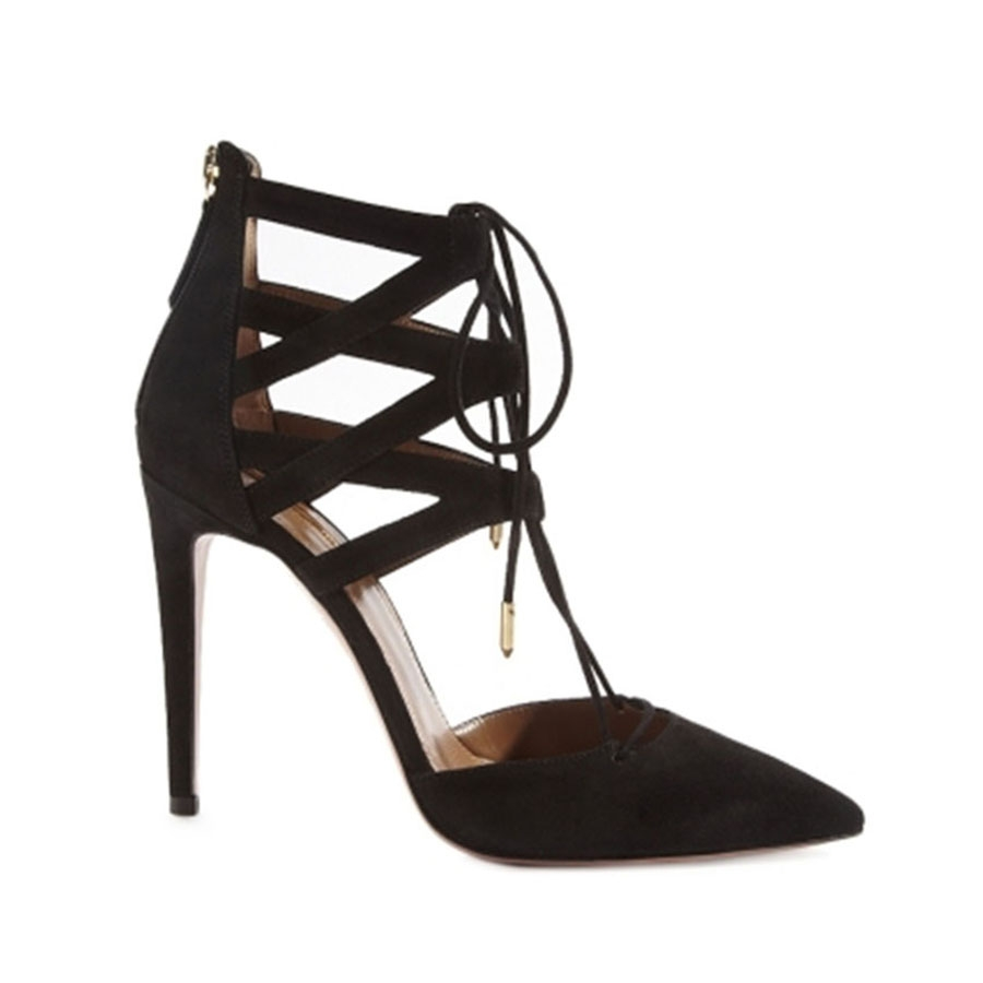 Aquazurra Belgravia Pump - Shop Luxury Shoes | Editorialist
