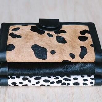 bag status anxiety peppermayo leopard print wild cat print faux fur faux fur wallet purse animal print purse animal print wallet leather animal print bag furry pouch