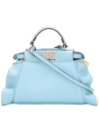 mini blue bag