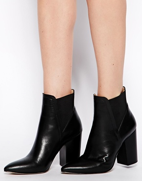 ASOS | ASOS EINSTEIN Leather Ankle Boots at ASOS