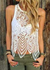 top,white,white top,sleeveless,sleeveless top,sheer,sheer top,lace,lace top,white lace,white lace top,sexy,sexy top,sexy crop top,crop,cropped,crop tops,white crop tops,lace crop top,sexy top white,black,floral,floral lace,sheer lace,tumblr,tumblr top,tumblr outfit,pinterset,street,streetwear,streetstyle,urban,adidas,style,stylish,style scrapbook,american style,fashion,fashion toast,fashion vibe,fashion is a playground,fashion inspo,fashion coolture,bodycon,fashionista,preppy fashionist,preppy,pretty,preppy top,musthave top,muthave,brand,girly,girly wishliist,cute,cute top,cool,hot,summer,holiday season,jeans top,spring,beach top,beach,see through,mesh,mesh top,see through top,moraki,blouse,dress,28719,t-shirt,tank top,brandy melville