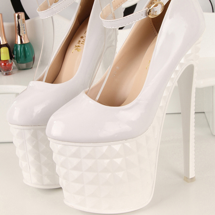 Aliexpress.com : Buy Rita's Shop 2014 New Women Fashion Sexy Round Toe Buckle Strap Shoes Brand v*a Shoes High Heels Wedding Shoes For Women from Reliable rivet dress suppliers on Happy Moments Store