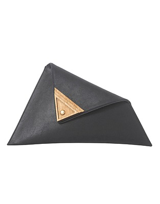 ASOS Fashion Finder | Black Large Asymmetric Bag