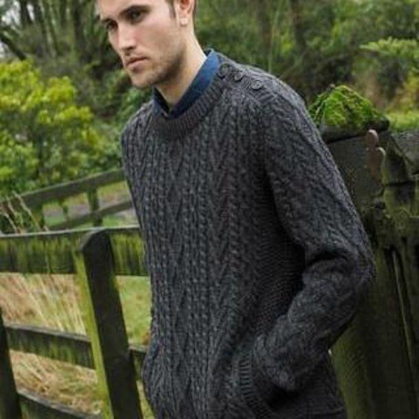 Sweater Arans Of Ireland Mens Aran Sweaters Irish Sweaters Mens