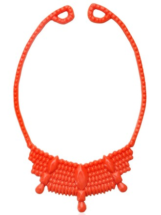 necklace coral jewels