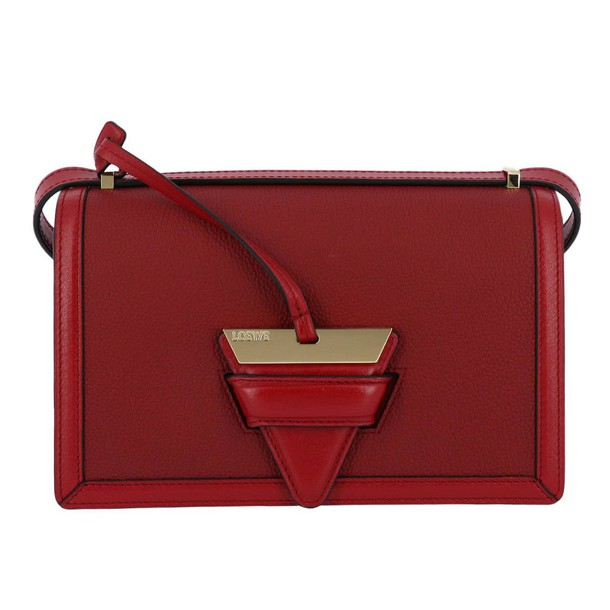 LOEWE women bag shoulder bag red