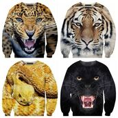 sweater,animal print,tiger,leo,snake,panther,snake print