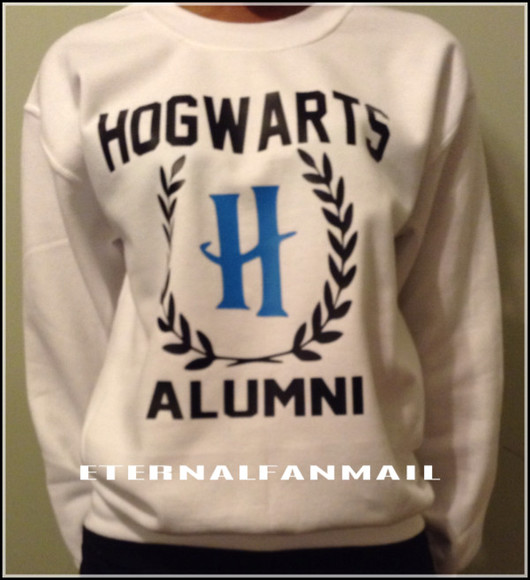 sweater harry potter harry potter sweatshirt harry potter clothing hogwarts sweatshirt hogwarts alumni sweatshirt hogwarts clothing