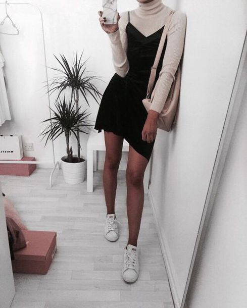 Dress Black Dress Little Black Dress Adidas Adidas Shoes Cream Beige Marble Phone Case