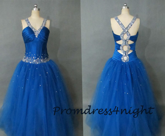 formal dress ball gown royal blue prom dress open back prom dress uk formal dress organza ball gown quinceanera dreses