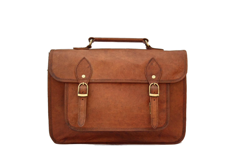 Leather camera bag / satchel / messenger bag