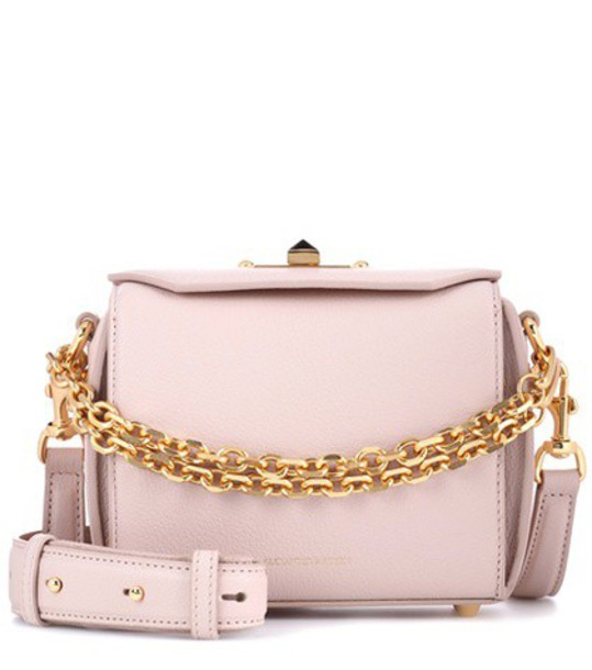 Alexander Mcqueen bag shoulder bag leather pink