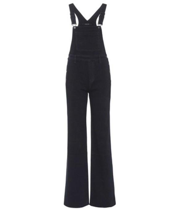 J Brand Denim overalls in black