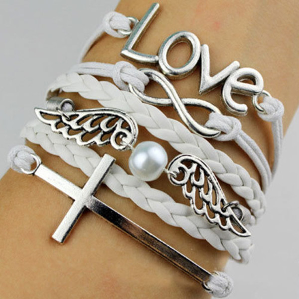 jewels bracelets white sweet pearl