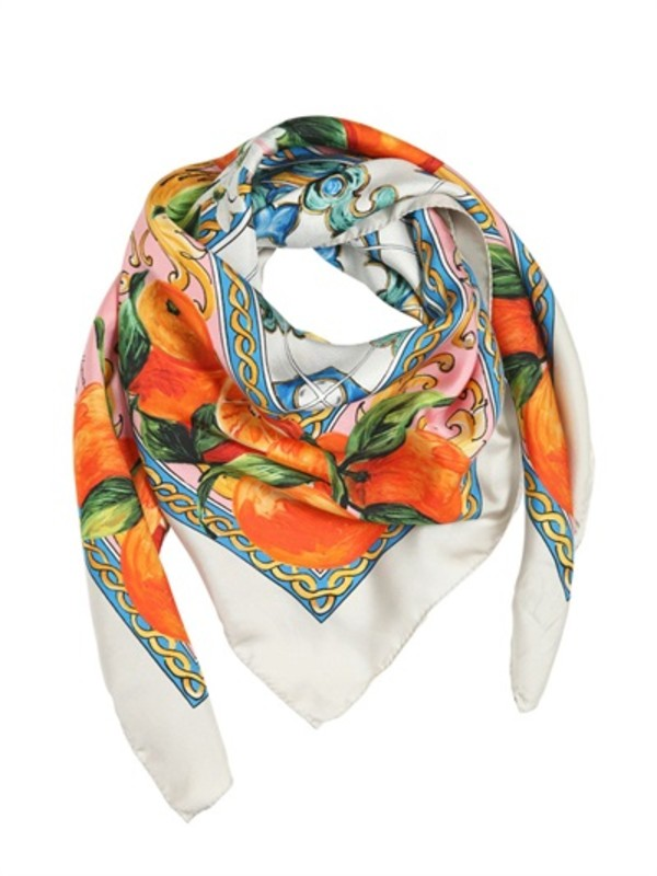 scarf dolce and gabbana